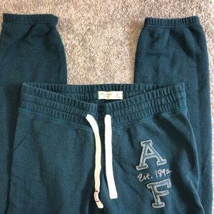 Abercrombie & Fitch - Teal Sweatpants; Size XS